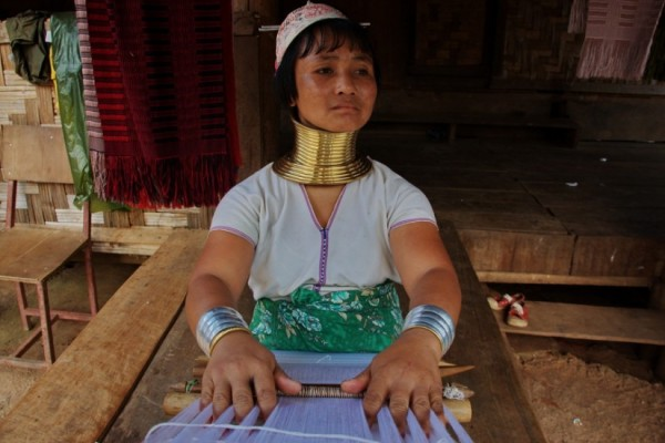 Thailand Pictures Long Neck tribe Mae Hong Son 10